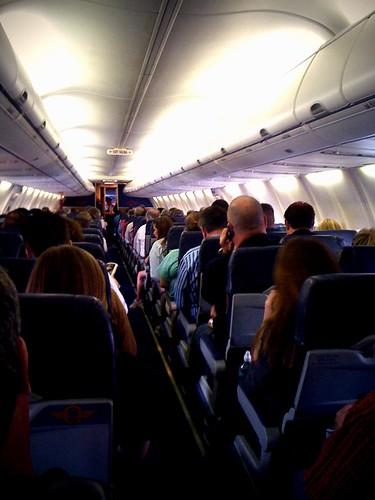 Full bus... er, plane