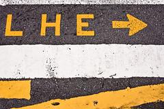 Lhe, Av.Ibirapuera, SP, 2010 (Andr Spinola e Castro) Tags: abstract yellow crossing pavement sopaulo amarelo sp arrow asfalto seta abstrato pedestriancrossing faixa lhe faixadepedestre