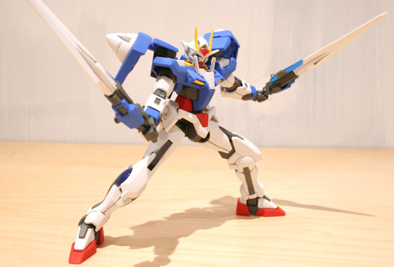 00 Gundam - weapons