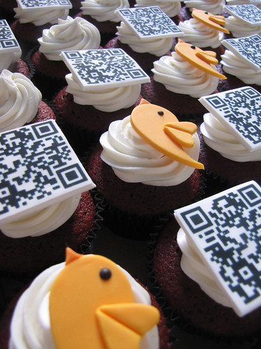 Twestival Montreal Cupcakes