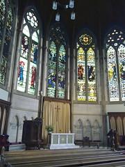 27032010004 (FLWatson) Tags: windows church scotland waiting glasgow interior stainedglass kh sanctuary kelvinsidehillheadparishchurch kelvinsidehillhead preearthour2010