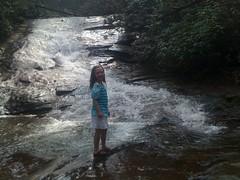 Iz at Lower Falls