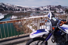 I see the Iide mountain range (Will Design Works) Tags: japan motorcycle yamagata turing