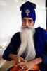 Baba Prem Singh (gurbir singh brar) Tags: blue portrait india man beard glasses nikon missionary maharashtra turban nikkor spectacles 2010 khalsa nanded nihang پنجابی flowingbeard jathedar jaito 2470mmf28g buddhadal gurbirsinghbrar saintsoldier mugat nikond3s babapremsingh laadlianfaujan rorikapura ਨਿਹੰਗਸਿੰਘ
