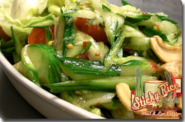 Spicy Cucumber Salad (click on link below for pricing) by Sticky Rice Online