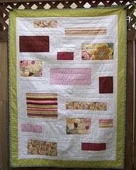 quilt front ( Just me... ) Tags: hand quilt quilted stitching binding