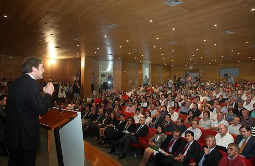 Pedro Passos Coelho no encerramento do Congresso Distrital do PSD-Vise