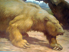 Ground Sloth by Charles Knight - The Field Museum of Natural History - Chicago IMG_3778A (Bruce Aleksander & Dennis Milam) Tags: chicago painting illinois naturalhistory fieldmuseum groundsloth charlesknight