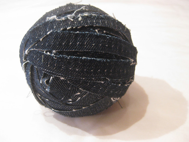 denim ball