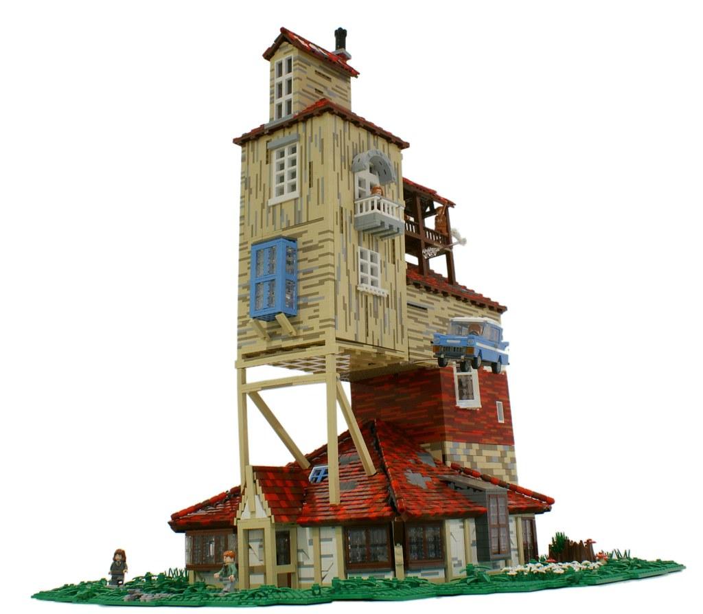 The Burrow Matija Grguric Tags Lego Harrypotter Moc Weasley Ronweasley Fordanglia Matijagrguric