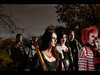 Bashing (Kaj Bjurman) Tags: eos blood sweden stockholm zombie clown bat 5d zombies hdr kaj mkii markii cs4 photomatix zombiewalk bjurman