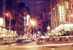 Little Italy, NYC (ShanLuPhoto) Tags: city nyc newyork night america lights downtown chinatown littleitaly loolooimage