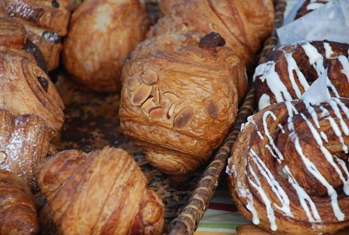 pastries at Atlantic Baking Company at Camden Farmers' Market