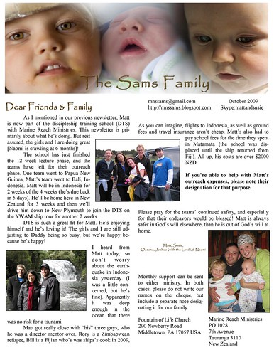 October 2009 Newsletter2