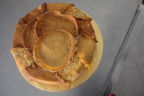 Pancake Marble Gateaux