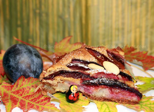 immagine foto ricetta  Crostata di prugne con mandorle