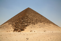 The Red Pyramid (Photos and Art: Donna Corless) Tags: architecture ancient desert pyramid egypt egyptian dashur redpyramid donnacorless