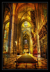 Have You Seen The Light. (Andy Bracey -) Tags: light texture spain cathedral gothic seville architectural hdr blendedexposure bracey haveyouseenthelight andybracey
