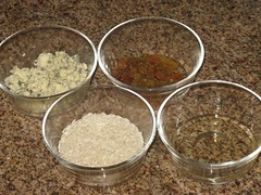 Risoto de Gorgonzola com Passas - ingredientes