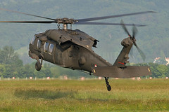 Sikorsky S70 Black Hawk (Rockenbauer K.) Tags: brown black green grass austria sterreich force hawk aviation air meadow wiese s helicopter gras grn braun airforce austrian rotor hubschrauber sikorsky 70a langenlebarn s70a brumowsky