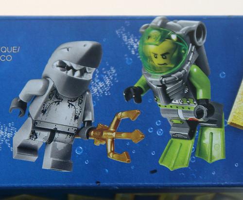 LEGO 8060 Atlantis - Typhoon Turbo Sub - Box Side