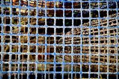 Blue Monday (Patrcia Raimond) Tags: blue net azul canal fishing sand alentejo pesca rede milfontes quadrados patiblue portodepesca patrciaraimond