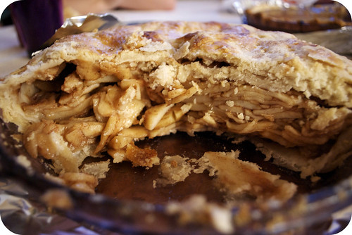 Nanny's famous apple pie