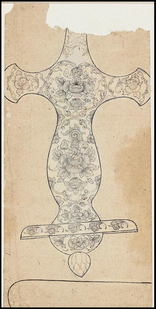 Rajasthani design (17th or 18th cent.) MFA