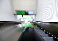 destination (angeloangelo) Tags: blur canon movement escalator bart rail smear 30d tamron1750mmf28