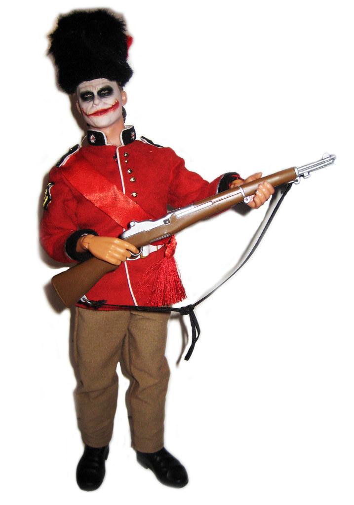 Heath Ledger Joker figure UK Buckingham palace guard  010