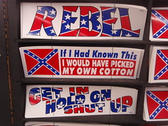 racist bumper sticker
