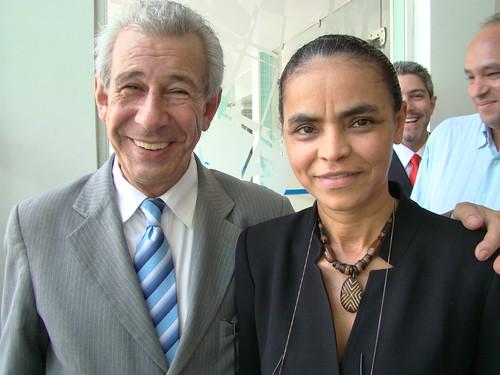 Recepção Senadora Marina Silva