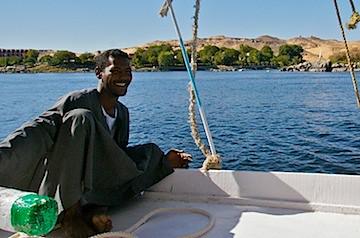 Day 160 - Felucca Ride Aswan - 032