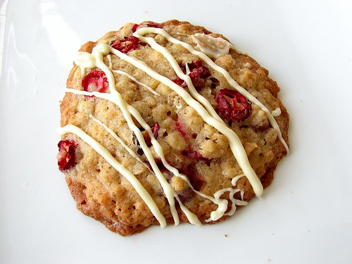 Oatmeal Cookies With Cranberry Raisinets Recipe — Dishmaps