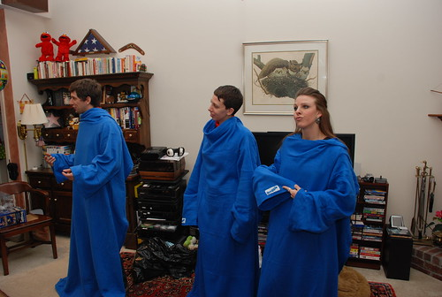 the Snuggies begins