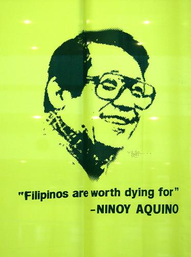 ninoy aquino, ninoy quotes, ninoy assassination, people power, tarmac assassination