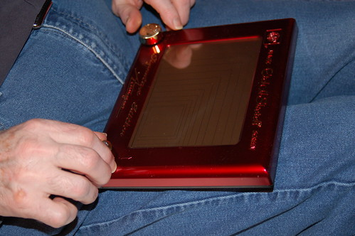 Pappy's Etch-a-sketch masterpiece.