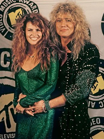 david coverdale and tawny kitaen GREEN