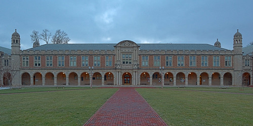 Washington University, in Saint Louis, Missouri, USA - Stephen Ridgley Hall