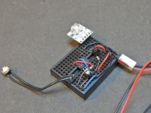 Simple on/off toggle from a momentary switch