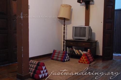 Shambara Guesthouse common area