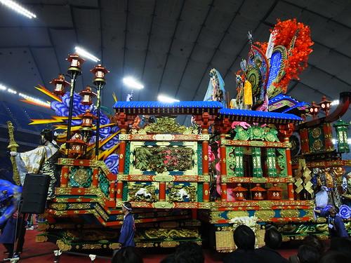 「八戸三社大祭」の山車