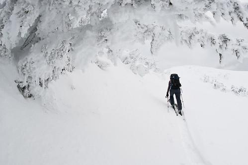 Tyax New Years Cinnabar Basin Ridge-a-rama Skiing Jan 2 2010   -12