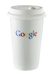 Google takewaway mug