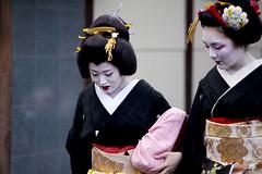 Kamishichiken Shigyoshiki '10 #7 (Onihide) Tags: japan kyoto maiko geiko    kamishichiken  kagai ichiteru shigyoshiki   onihide ichimme