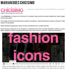 Marian! (chicisimo) Tags: fashion streetstyle chicisimo
