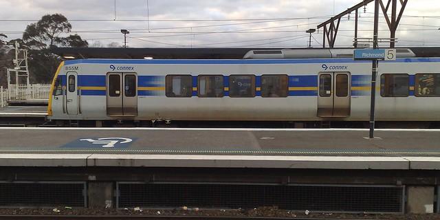 X'trapolis train at Richmond