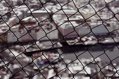 [35/365] oye (emiliehe) Tags: winter snow cold fence vanishingpoint 365 35 day35 flyen flien project365 mountfloyen flyfjellet mountflyen funicularsystem