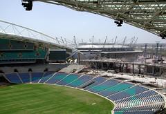 Sydney Telstra Stadium (d.traveller) Tags: 2001 australia newsouthwales sydneyolympicpark sydneytelstrastadium