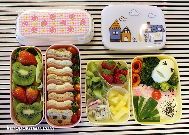 My two sets of Children Bento Sets